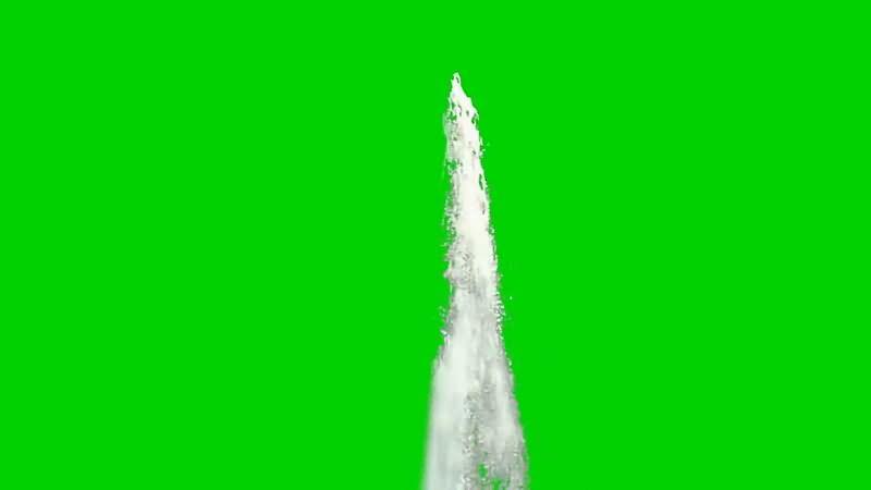 绿屏抠像喷泉视频素材