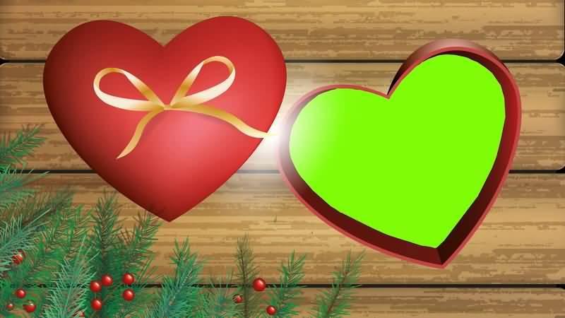 [4K]绿屏抠像爱心礼物盒视频素材