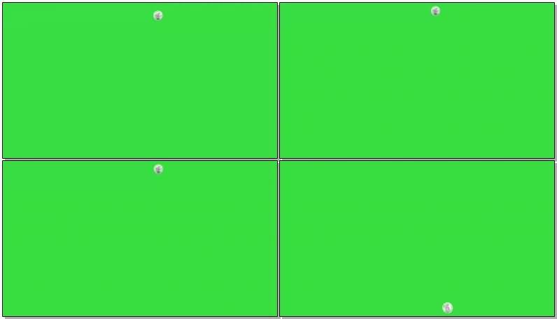 绿屏抠像由远到近坠落的月球视频素材