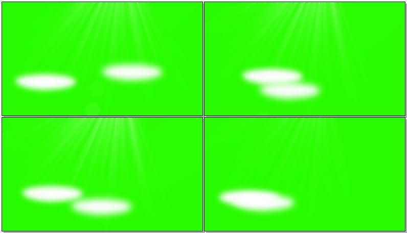 绿屏抠像舞台聚光灯视频素材