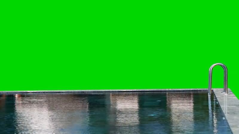 绿屏抠像游戏池视频素材