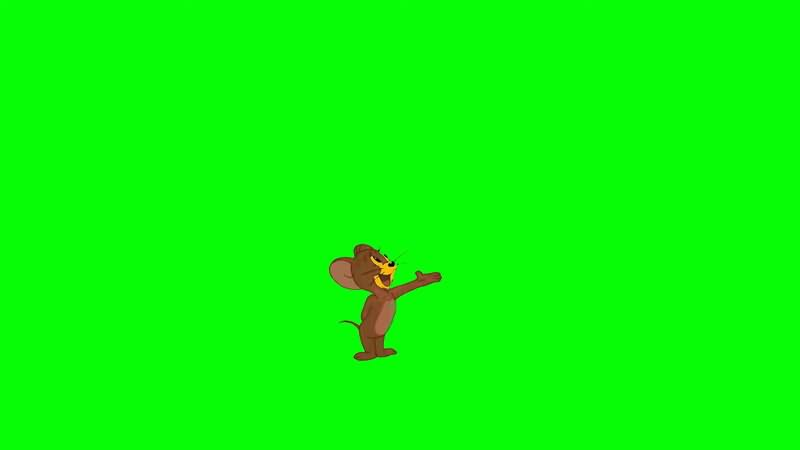绿屏抠像视频素材杰瑞