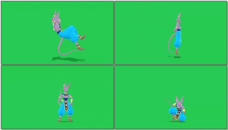 绿幕视频素材破坏神