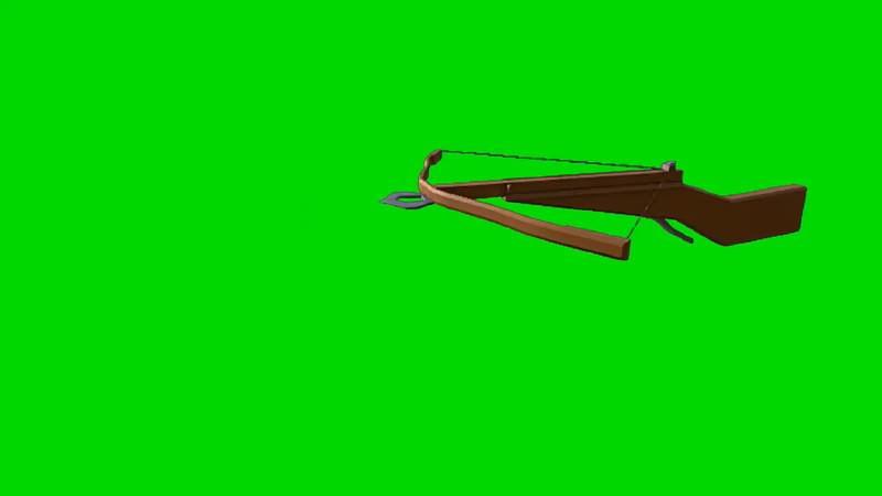 绿幕视频素材弓弩