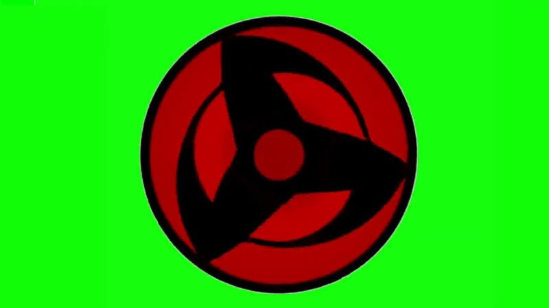 绿幕视频素材写轮眼