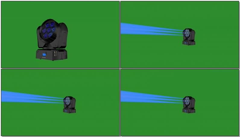 绿幕视频素材摄像头