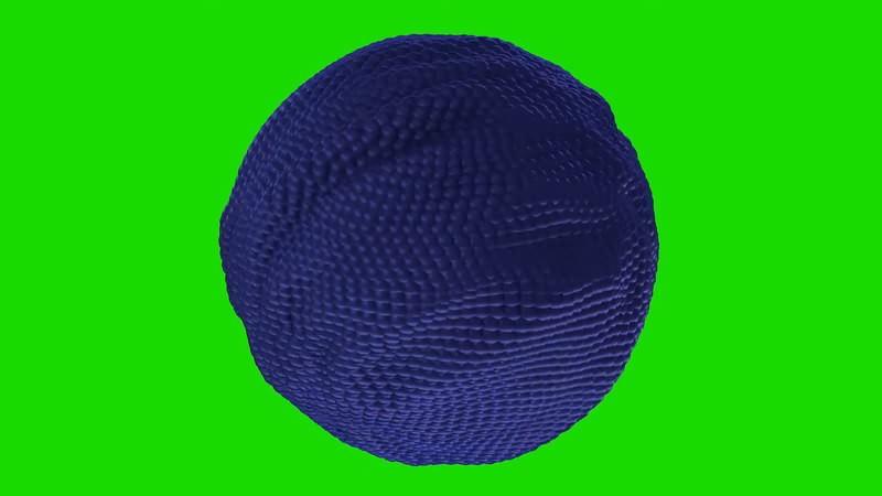 绿幕视频素材活动球体