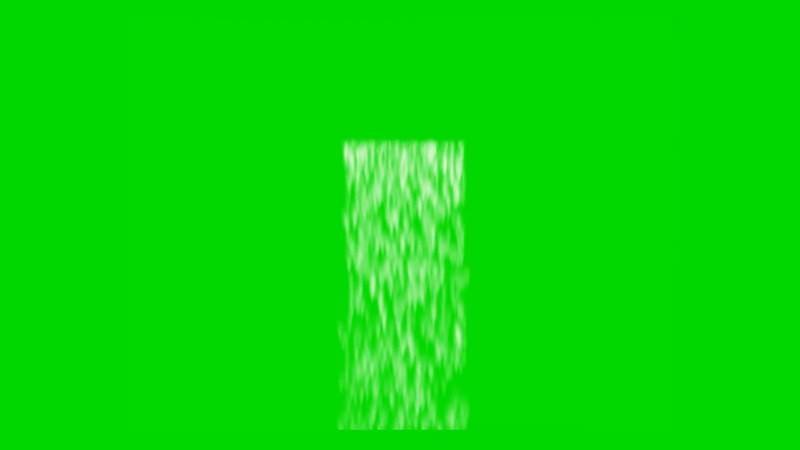 绿幕视频素材瀑布