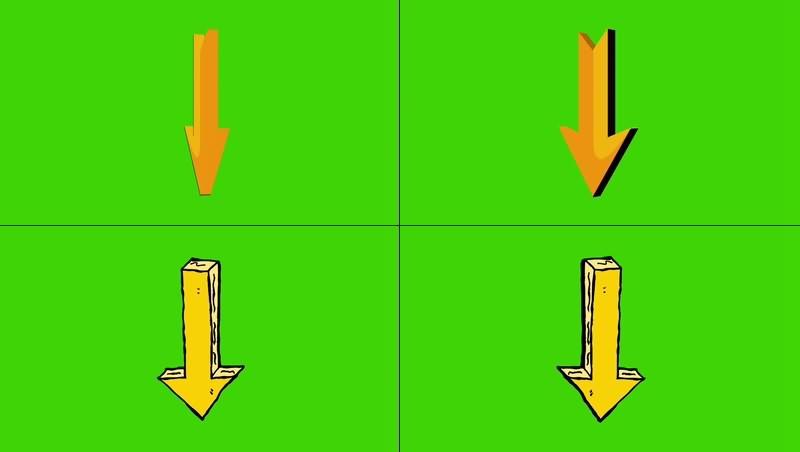 绿幕视频素材箭头.jpg