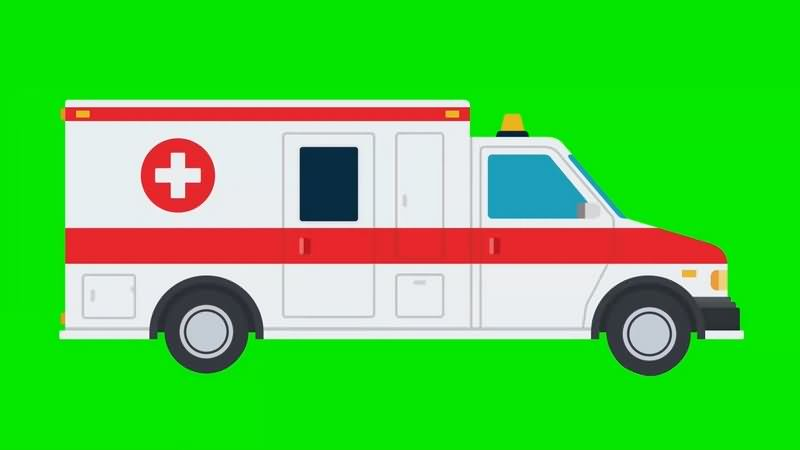 绿幕视频素材救护车.jpg