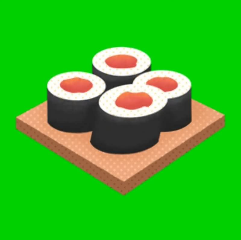 绿幕视频素材寿司