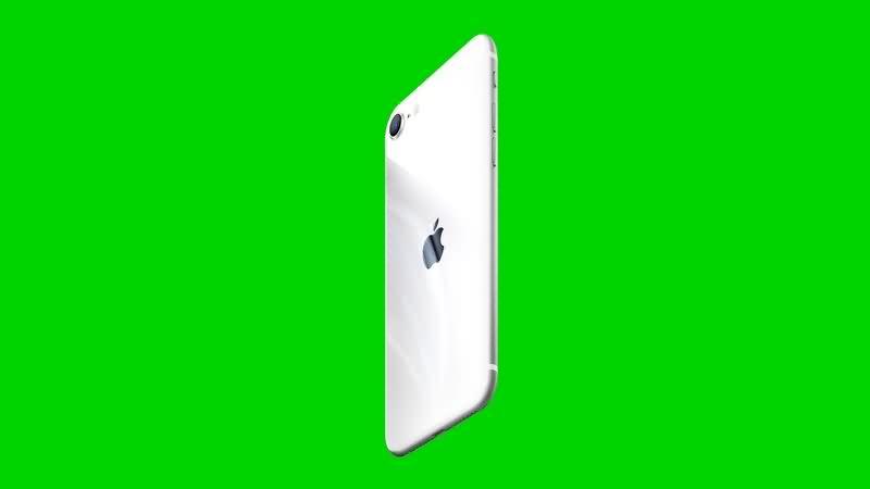 绿幕视频素材iPhone SE