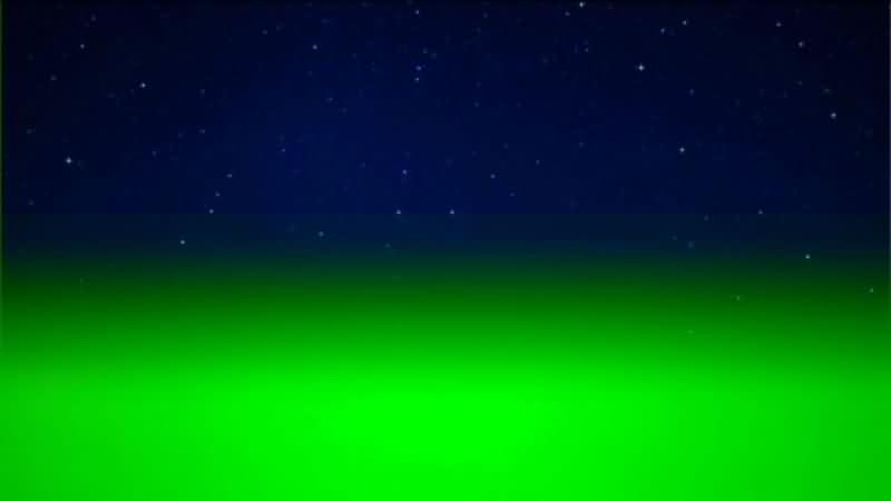 绿幕视频素材宇宙星空