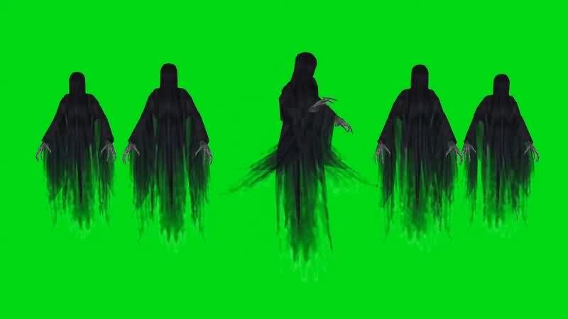 绿幕视频素材死神