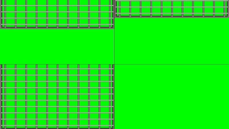 绿幕视频素材铁闸门