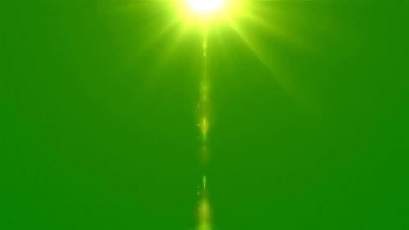 绿幕视频素材光晕