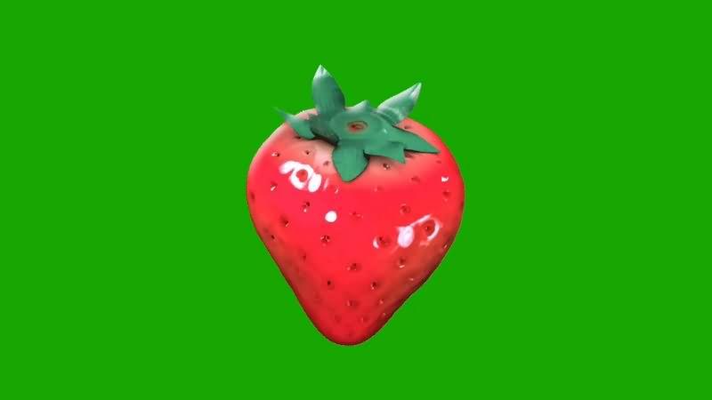 绿幕视频素材草莓.jpg