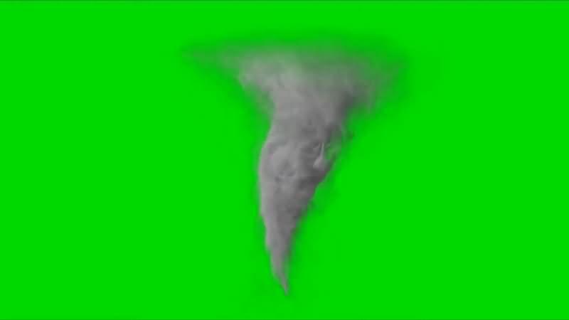 绿幕视频素材龙卷风