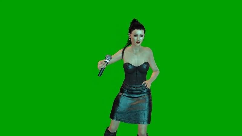 绿幕视频素材爱莉安娜·格兰德