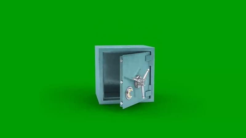绿幕视频素材保险箱