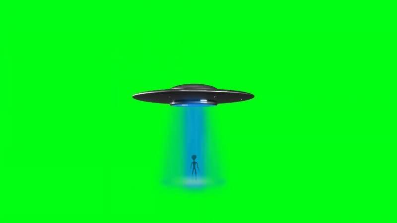 绿幕视频素材UFO飞碟.jpg