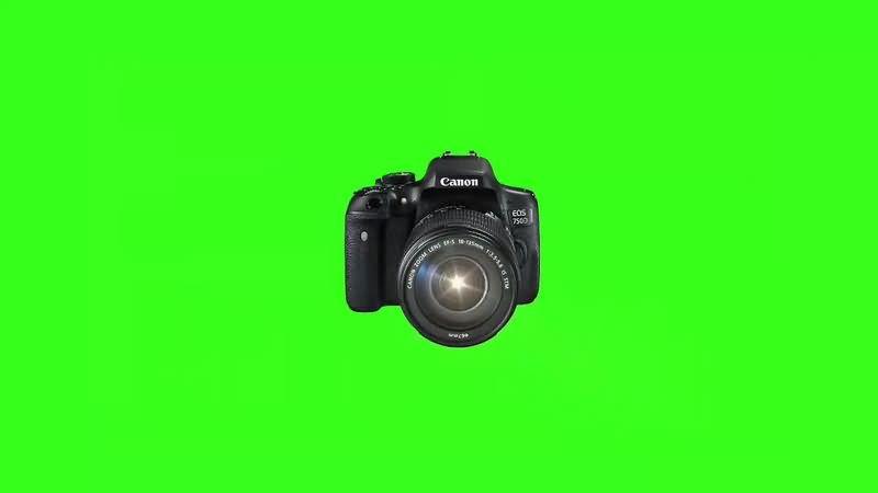 绿幕视频素材照相机