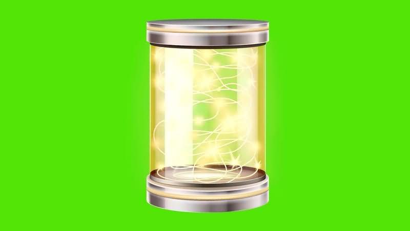 绿幕视频素材圣诞灯笼