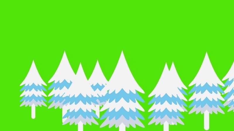 绿幕视频素材圣诞树.jpg