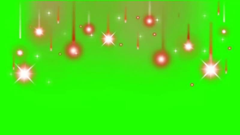 绿幕视频素材星光