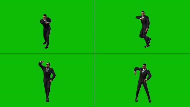 绿幕视频素材奥巴马