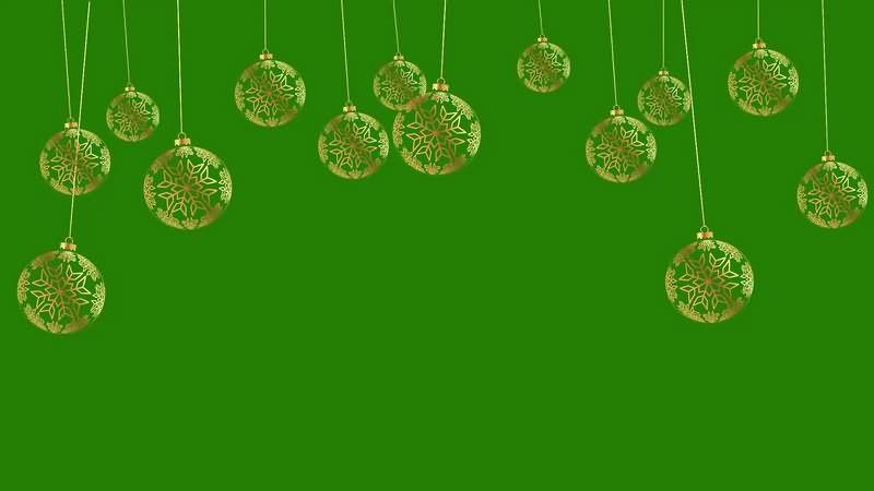 绿幕视频素材挂饰