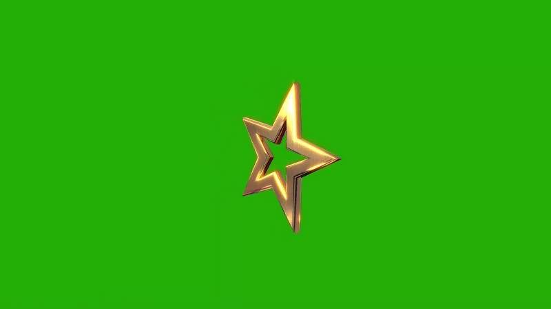 绿幕视频素材金星