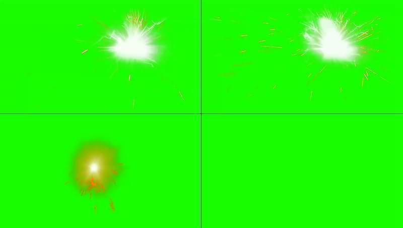 绿幕视频素材鞭炮
