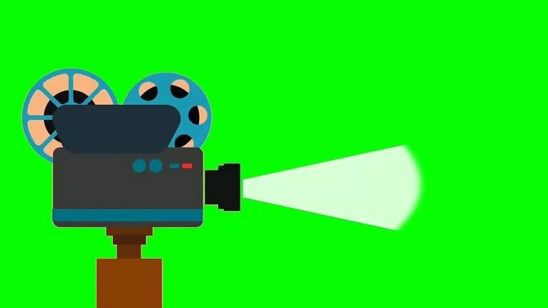 绿幕视频素材放映机