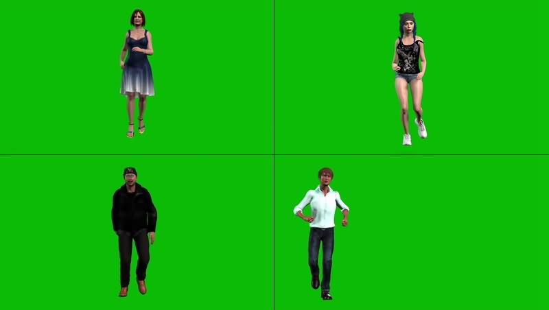 绿幕视频素材跑步.jpg