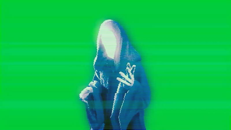 绿幕视频素材帕尔帕廷