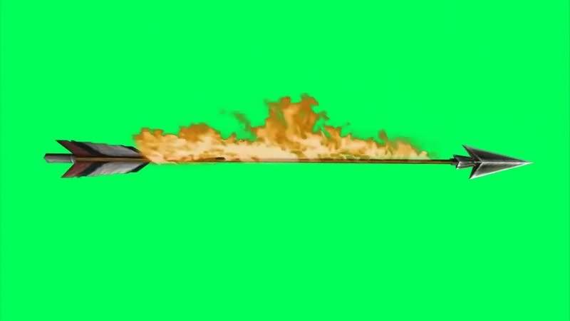 绿幕视频素材火箭矢