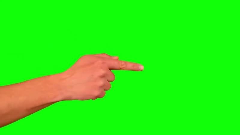 绿幕视频素材手势