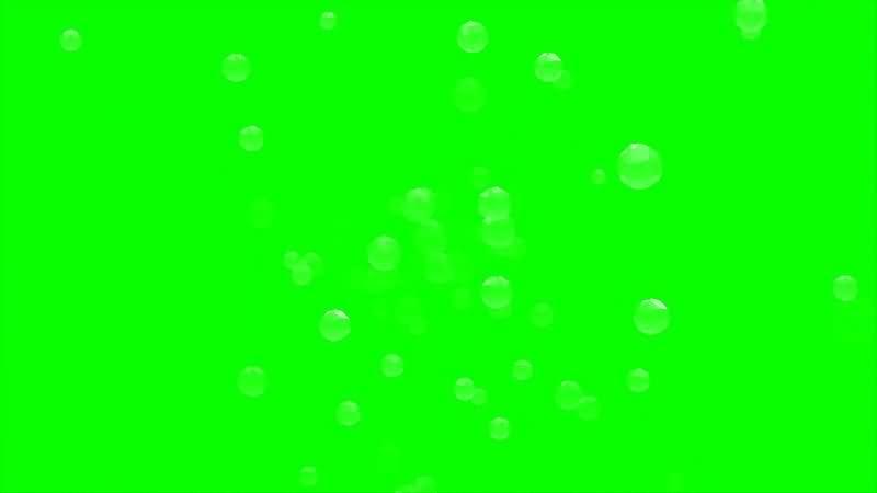 绿幕视频素材水泡