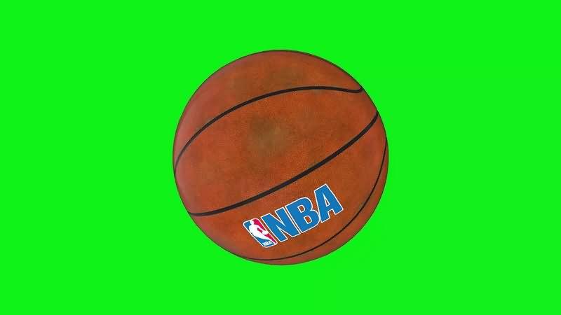 绿幕素材NBA篮球特效视频