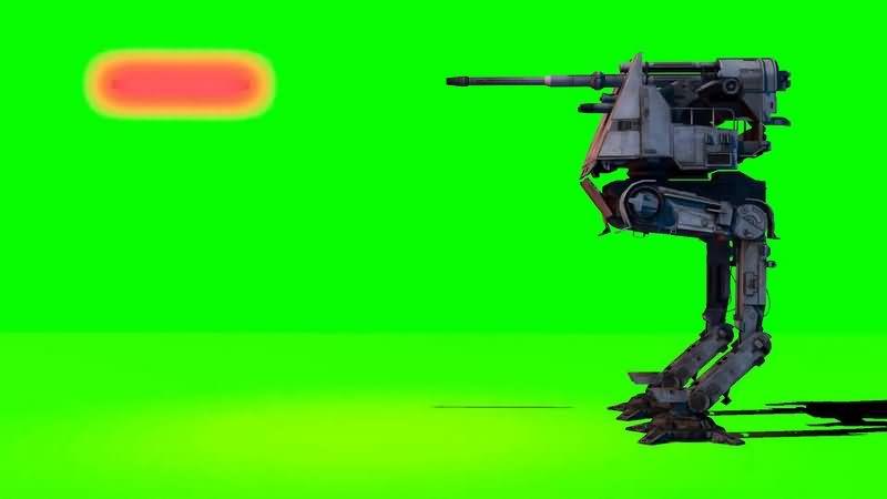 绿幕视频素材AT-DT步行机