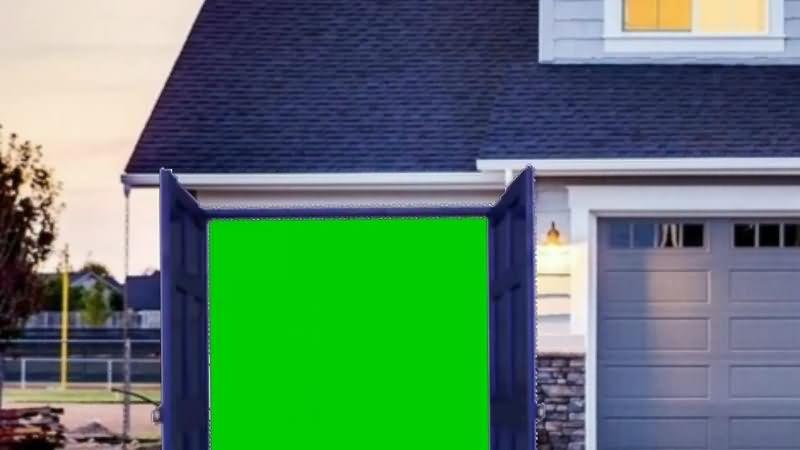 绿幕视频素材房屋