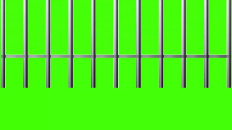 绿幕视频素材牢门