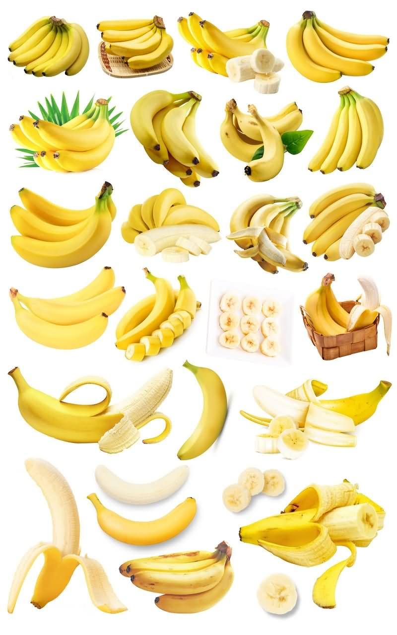 香蕉免抠分层PSD素材