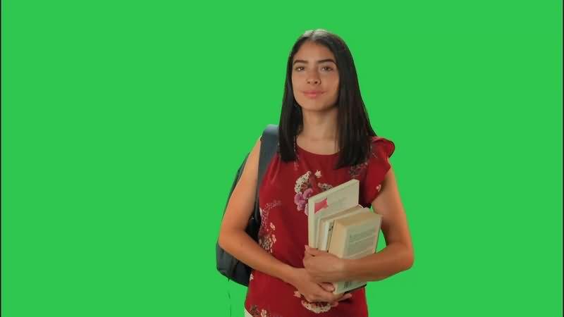 绿幕视频素材大学生