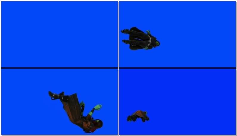 绿屏抠像银河护卫队本泰坦视频素材