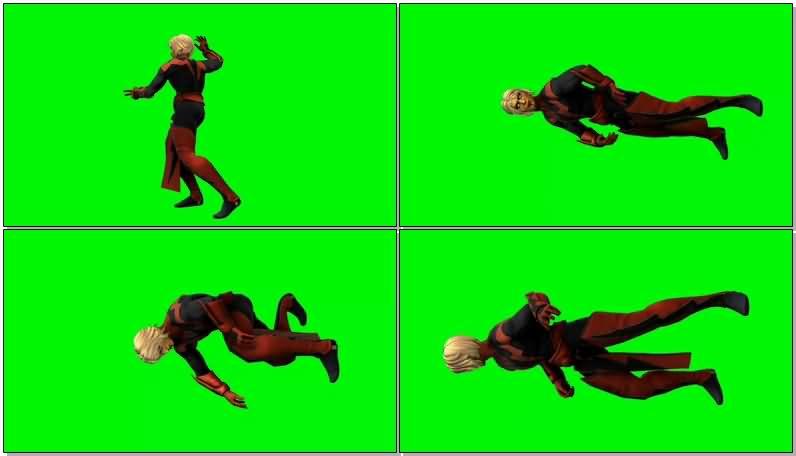 绿屏抠像漫威英雄魔士亚当视频素材