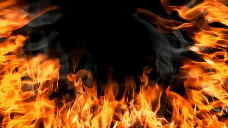 燃烧的火焰片头背景