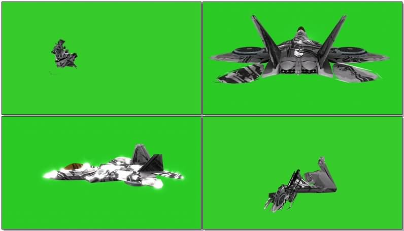 绿屏抠像变形金刚红蜘蛛视频素材