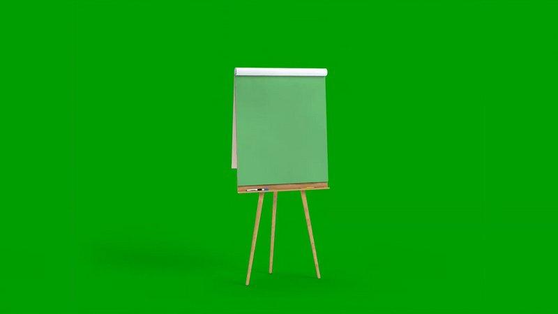 绿幕视频素材画板